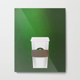 Favorite Coffee Metal Print