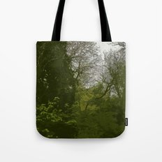 FOX IN A COOL GREEN WORLD Tote Bag