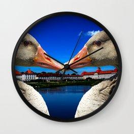 Munich in love Wall Clock
