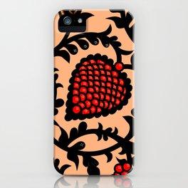 Indonesian batik motif, Minangkabau iPhone Case