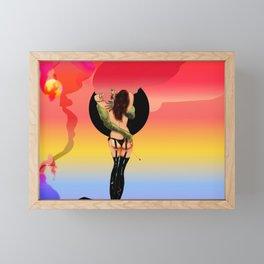 Scene Framed Mini Art Print