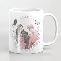 finn Mugs featuring Rae + Finn by glitterfang