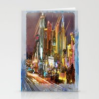 las vegas Stationery Cards featuring Vegas by Robin Curtiss