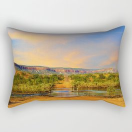 Sunset on the Cockburn Range - The Kimberley Rectangular Pillow