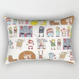 Nintendo Characters Rectangular Pillow