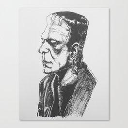 Frank Canvas Print