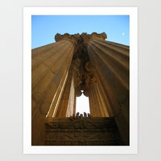 Palace of Fine Arts III Art Print