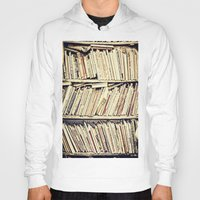 books Hoodies featuring books by PureVintageLove