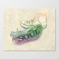 soul Canvas Prints featuring Soul by Dianne Delahunty
