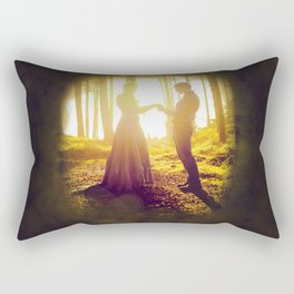Love Like the Sun Rectangular Pillow
