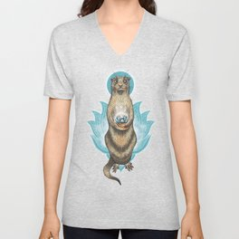 Otter friend Unisex V-Neck