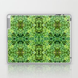kaleidoscope Green Laptop & iPad Skin