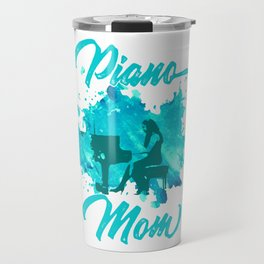 Grand Piano Mom Keyboard Clavier Pianist Gift Travel Mug