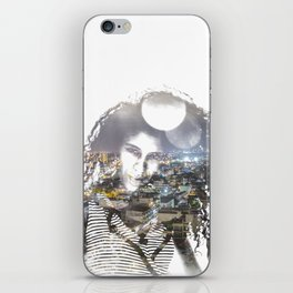 double exposure PV - C iPhone Skin