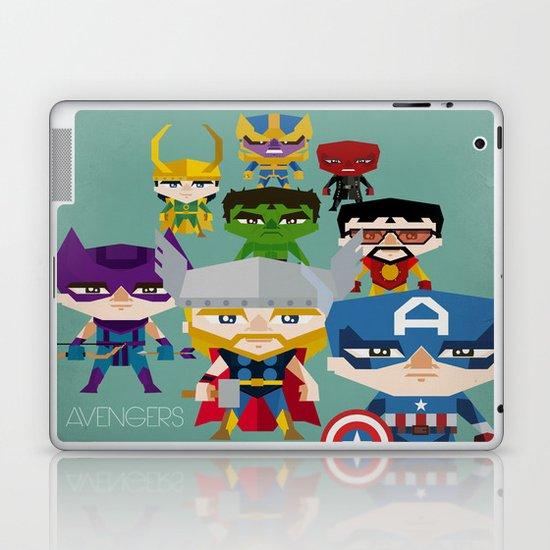 avengers 2 fan art Laptop & iPad Skin