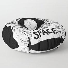 Major Spaceman Floor Pillow