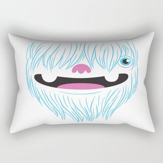 Happy Yeti Rectangular Pillow