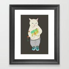 Colonel Surge Framed Art Print
