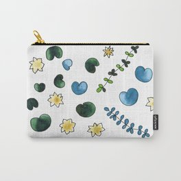 water lilies pattern Carry-All Pouch