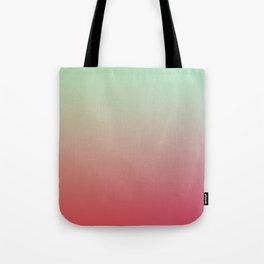 WARM WATERMELON - Minimal Plain Soft Mood Color Blend Prints Tote Bag