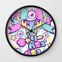 Kyary Pamyu Pamyu Print (japanese) Wall Clock