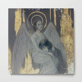 Reylo - Angel and Demon Metal Print