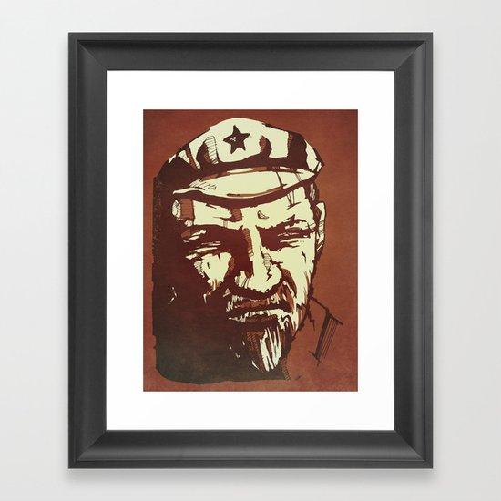 Vladimir Ilyich Lenin Framed Art Print