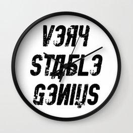 Very Stable Genius Wall Clock