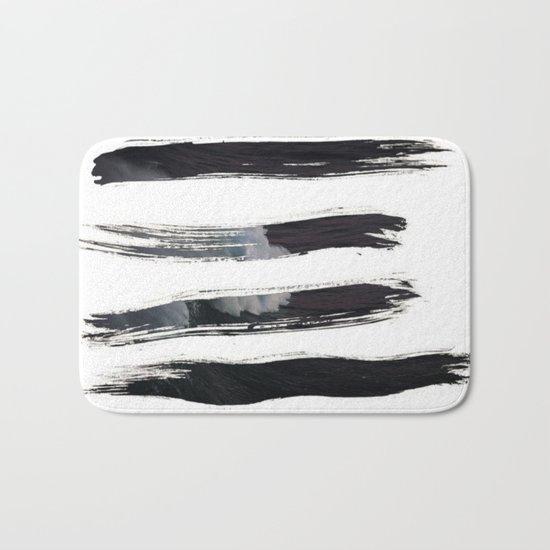 Paint it black Bath Mat