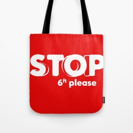 Social DIstancing  Tote Bag