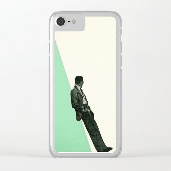 Cool As A Cucumber Clear iPhone Case