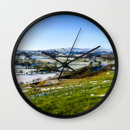 North Pennines, UK Wall Clock
