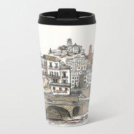 Amalfi Coast memory Metal Travel Mug