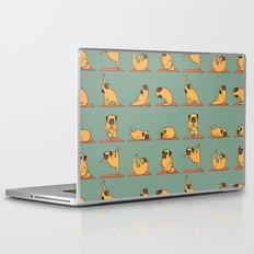 Pug Yoga Laptop & iPad Skin
