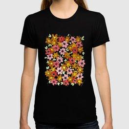 Golden Flowers T-shirt