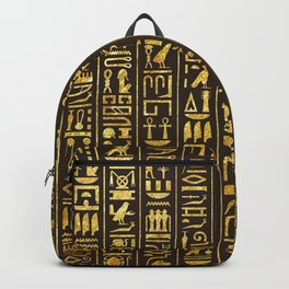 Gilded Hieroglyphs Backpack