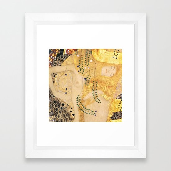 Water Serpents - Gustav Klimt by maryedenoa