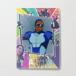 ATrain in pop art Metal Print