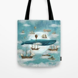 Ocean Meets Sky - revised Tote Bag