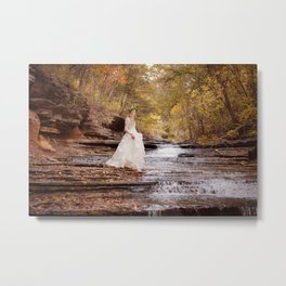 The Purity of Autumn Metal Print