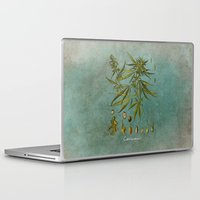 cannabis Laptop & iPad Skins featuring Cannabis by jbjart