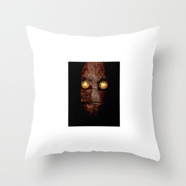 Copperhead mask_094 Throw Pillow