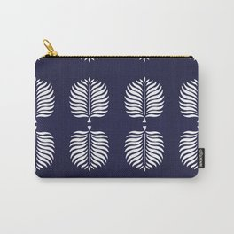 TROPICAL PALMS . BLUE Carry-All Pouch