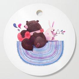Bear & Bunny Cutting Board