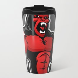 Angry big gorilla Travel Mug