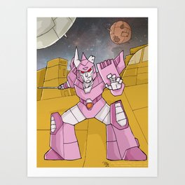 Transformers - Cyclonus Art Print