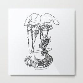 Hands of Life Metal Print
