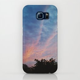 Colored Clouds iPhone Case