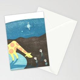 Lonesome Giraffe Stationery Cards