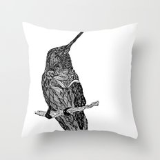 come with me  Throw Pillow